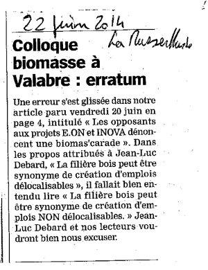 Article de La Marseillaise sur l'action à Gardanne le 19 juin (2/2)