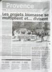 Article de La Marseillaise du vendredi 20 juin