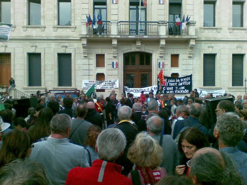 Grande manifestation à Gardanne le 5 octobre 2014 (1/6)