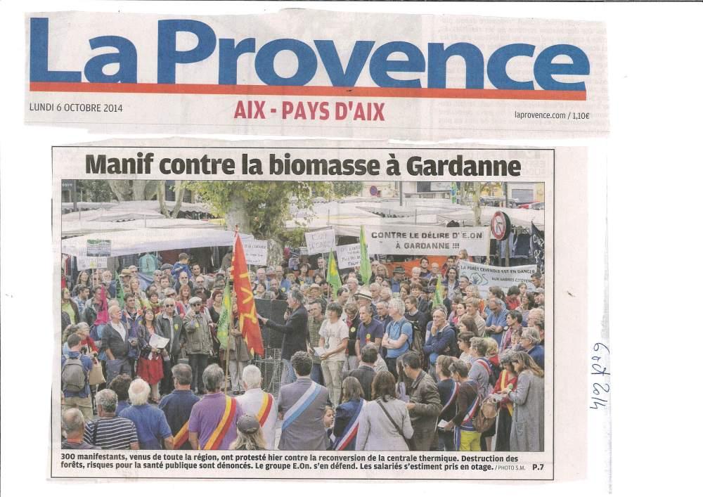 Grande manifestation à Gardanne le 5 octobre 2014 (3/6)